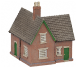 42-190 Farish Scenecraft RTP N Scale Crossing Keepers Cottage